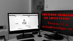 Trabajo de Game Master en Locus Fugae